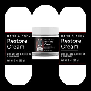Mr Black Restoration Cream (Dry Skin)