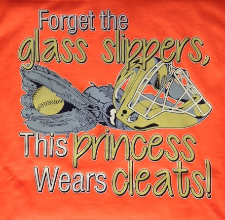 Forget the glass slippers...This Princess wears cleats!