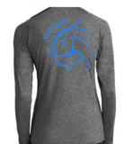 Heather Grey Volleyball 1/4 Zip
