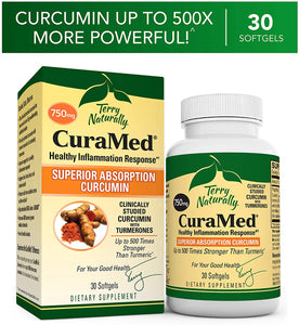 Terry Naturally CuraMed® 750 mg 30 Softgels