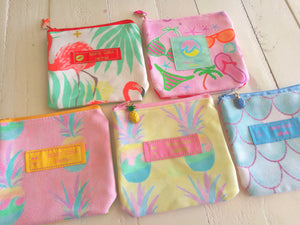 5 Coin Pouch Set