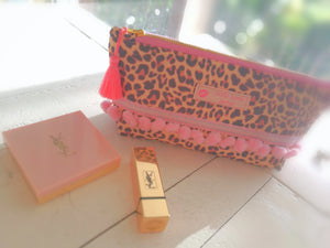 Leopard Cosmetic Purse