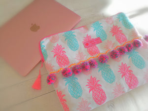 Laptop Case, Pineapple