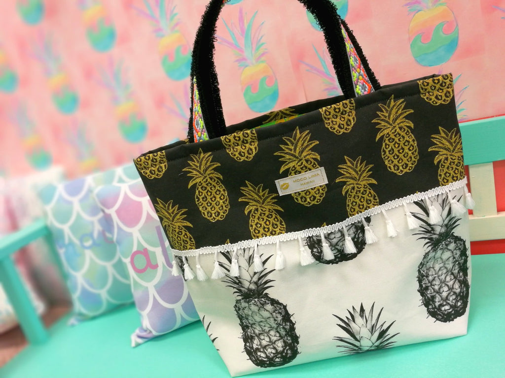 Big Black Pineapple Tote Type D