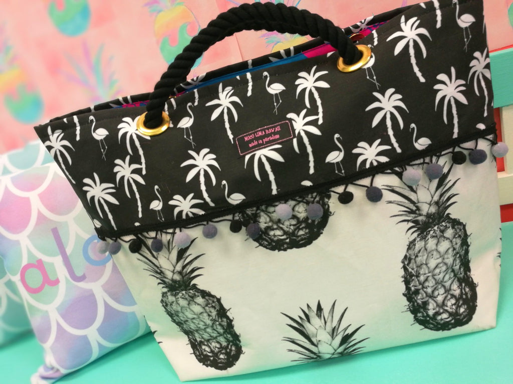 Big Black Pineapple Tote Type F