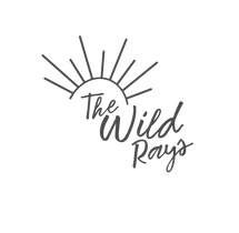 The wild rays logo with a sun above the and rays spraying out to the top, handmade high quality bows and accessories for the whole family