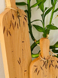 Set of cheese boards - Bamboo
