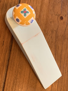 Door stopper - Pale blue