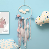Pastel dream-catcher