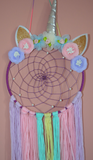 Magical unicorn dream-catcher