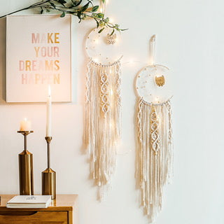 Macrame` dream catcher