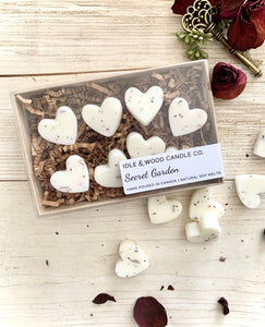 MINI HEART SOY WAX MELTS