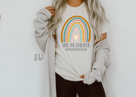 Save The Children tees for Operation Underground Railroad
