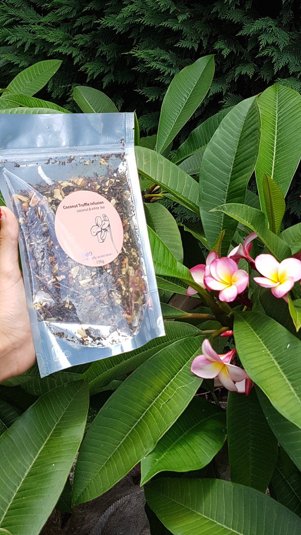 Coconut Tea 140g Refill - Coconut Truffle Tea