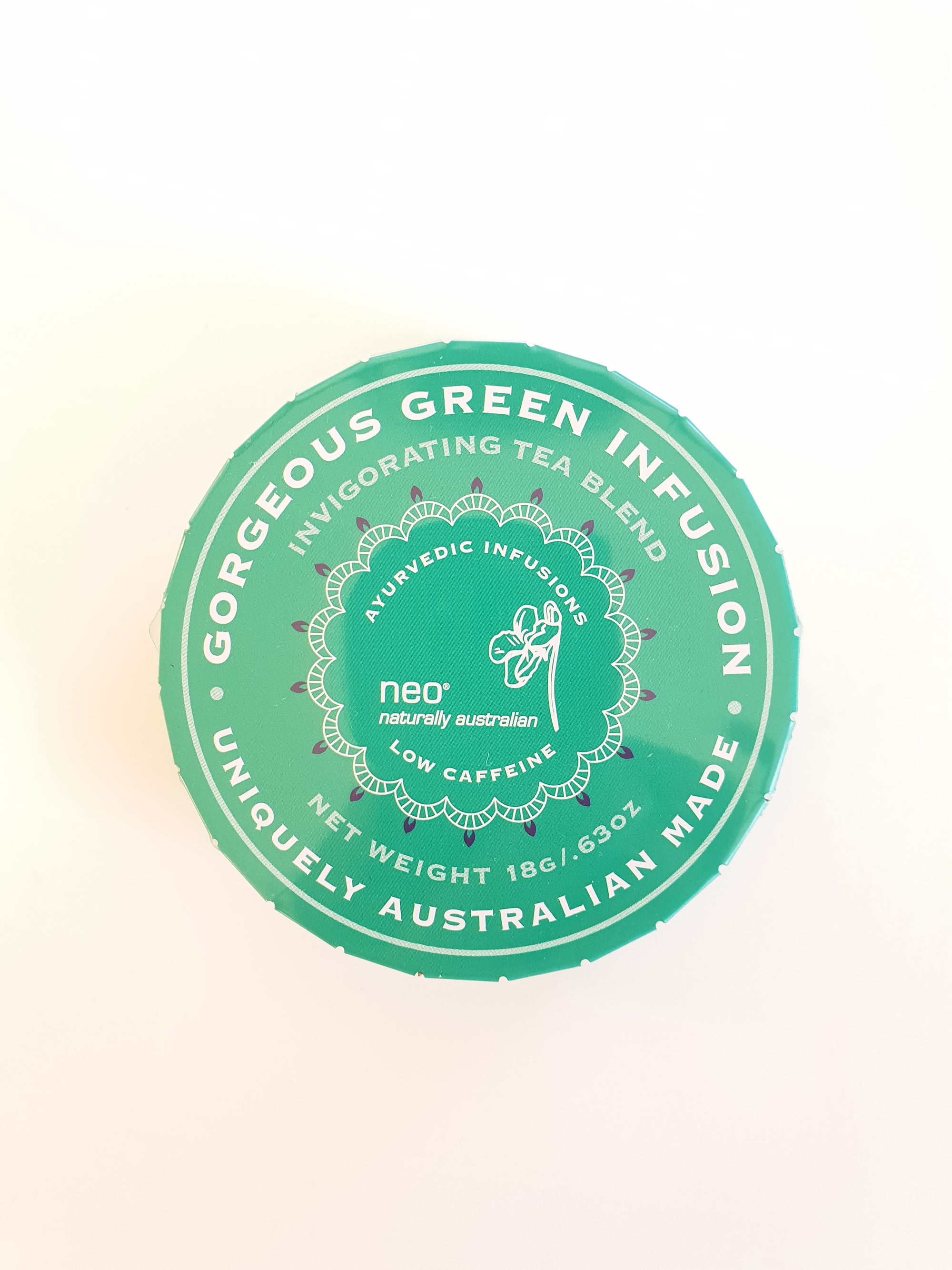 Gorgeous Green Tea Travel Tin