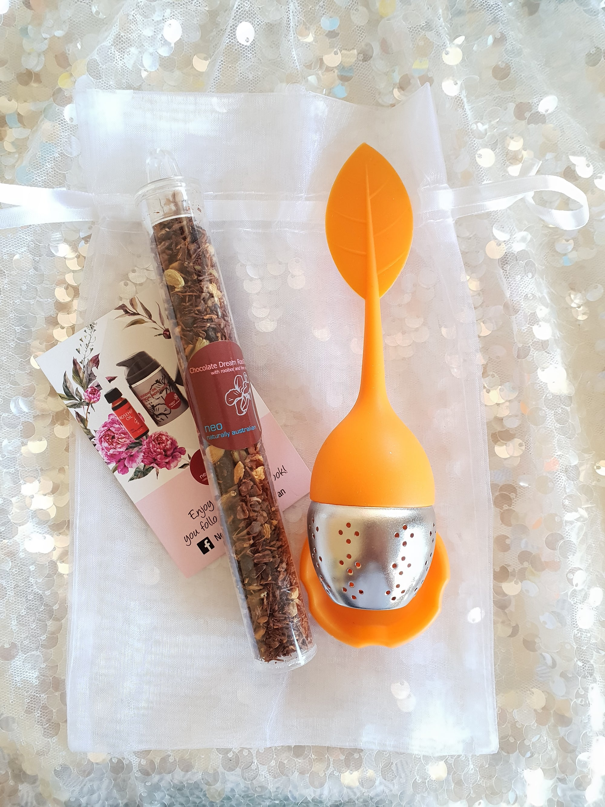 Rooibos Tea Chocolate Dream Tea Sip Kit