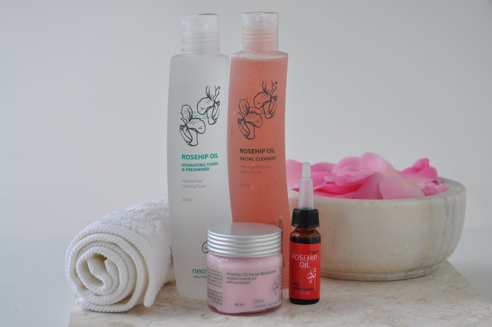Rosehip Oil Skincare Basic Solutions Pack