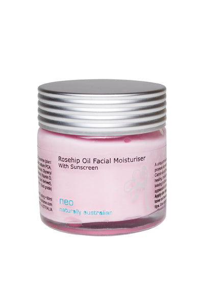Rosehip Oil Face Cream 50ml with Sunscreen