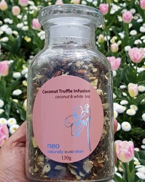 Coconut Tea Jar 130g - Coconut Truffle Tea