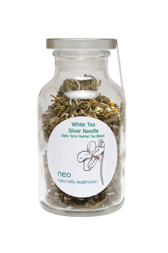White Tea Silver Needle Tea Jar 65g