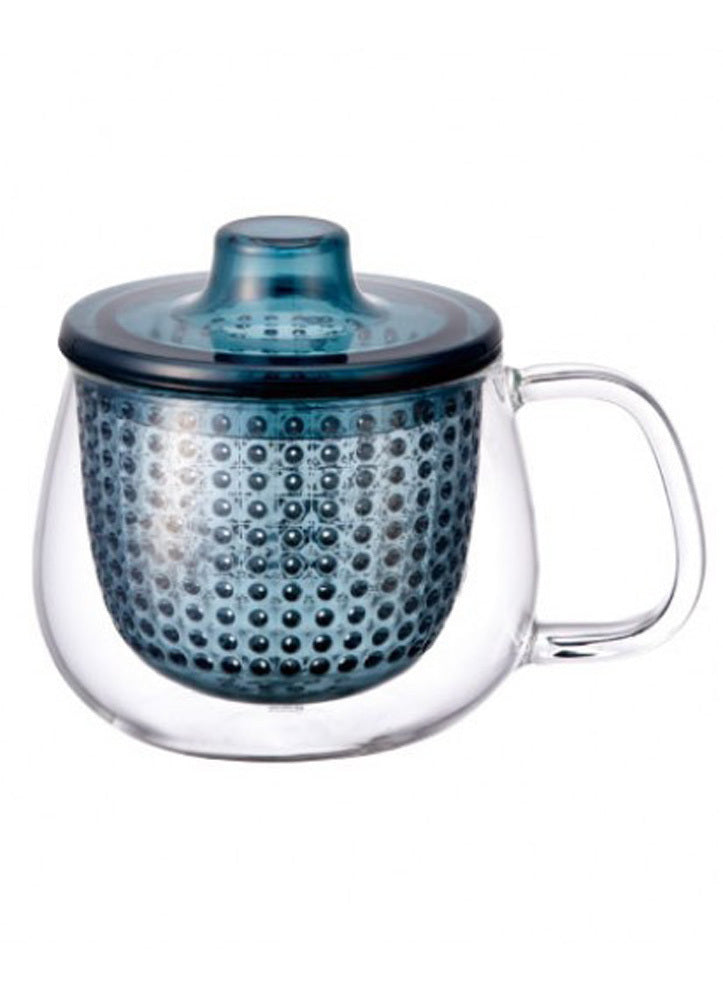 Kinto Unimug Blue Tea Mug Infuser