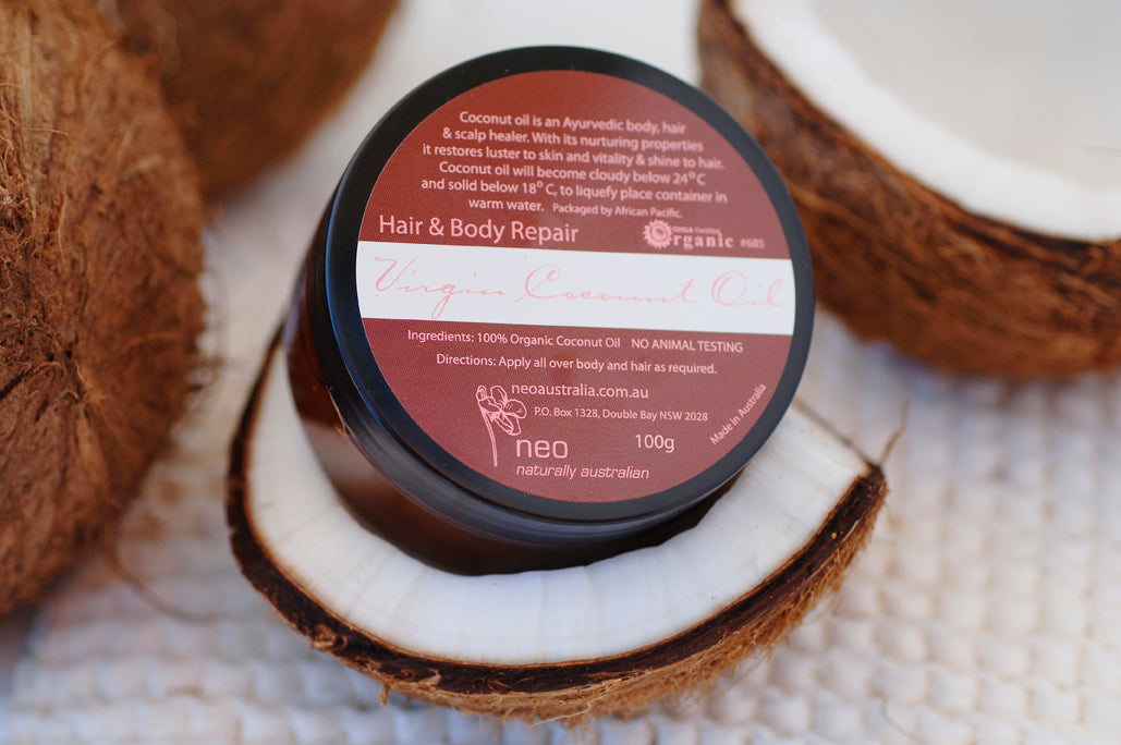 Coconut Oil Certified Organic 100g