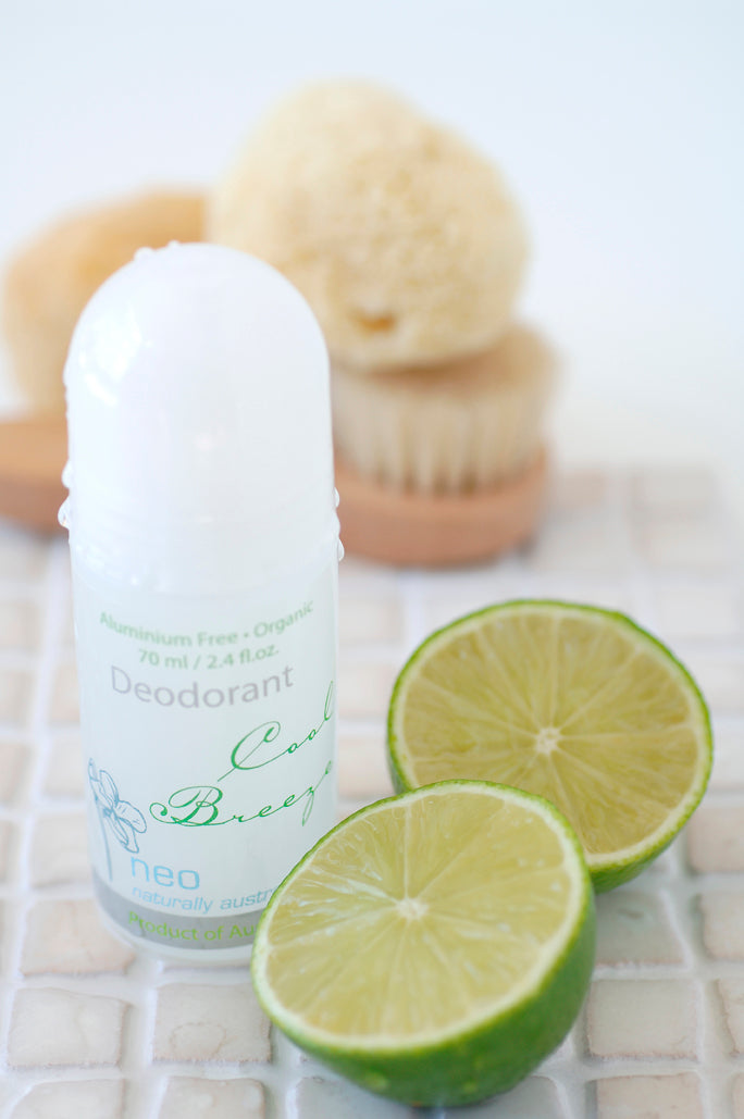 Cool Breeze Organic Deodorant 70ml
