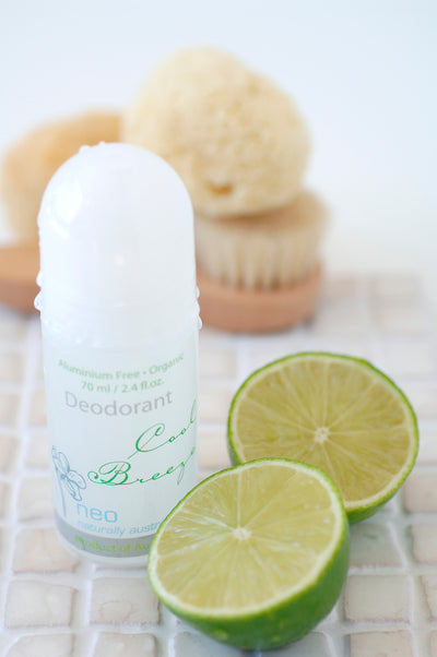 Organic Deodorant Duo Set 70ml