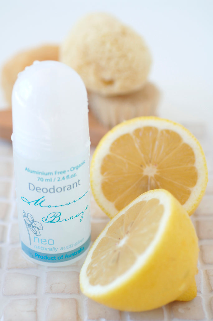 Monsoon Breeze Organic Deodorant 70ml