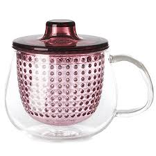 Kinto Unimug Red Tea Mug Infuser