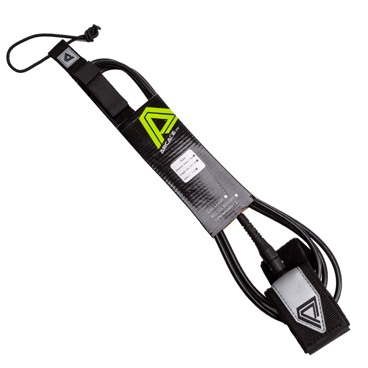 Arcade Longboard Calf Surfboard Leash - Santa Cruz Surf Shop™