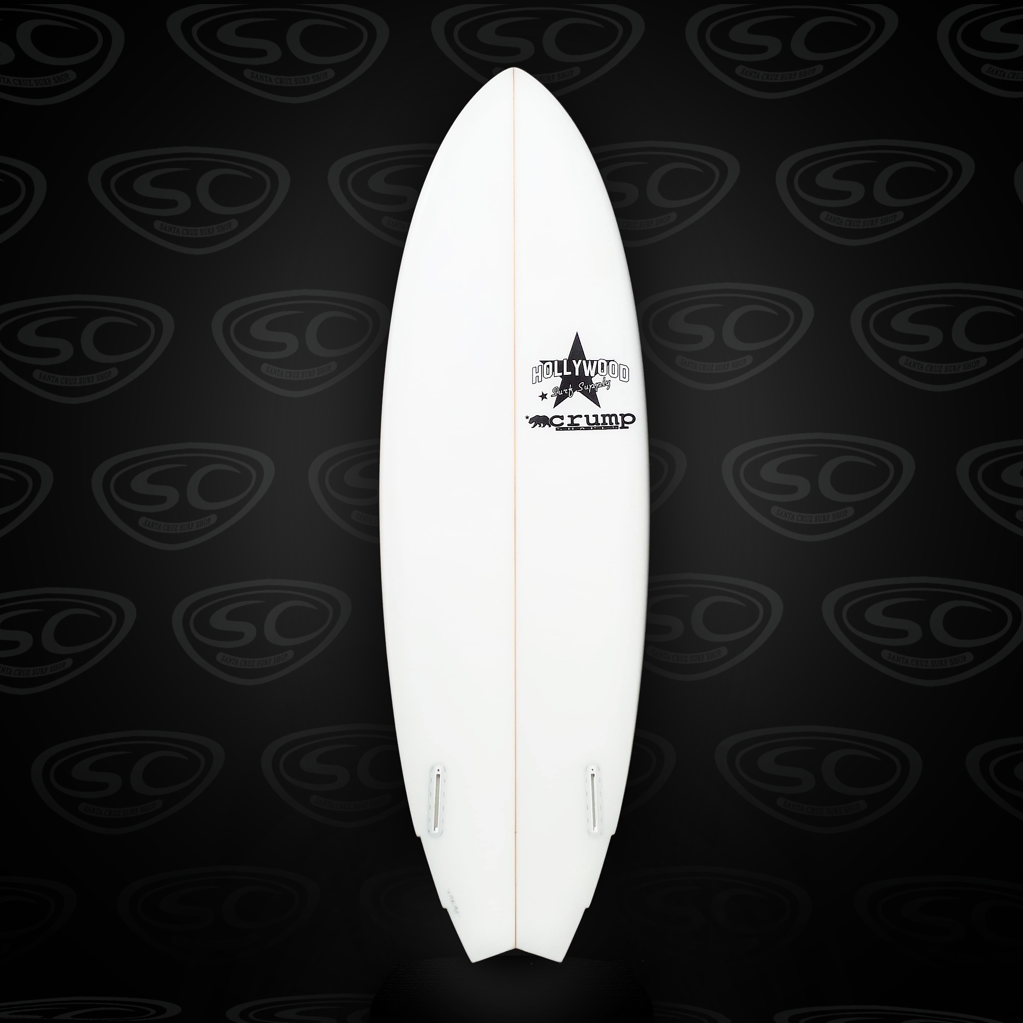 Hollywood Evil Twin Surfboard - Santa Cruz Surf Shop™