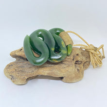 Load image into Gallery viewer, Tuna - Eel Pounamu Pendant