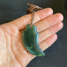 Load image into Gallery viewer, Marsden Shark Tooth Pounamu Pendant