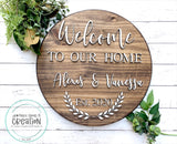 Round: Welcome To Our Home