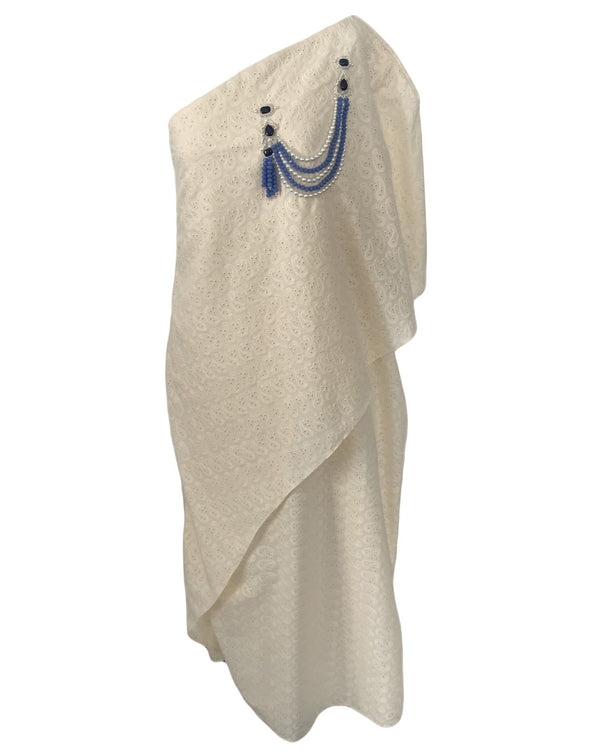 One-Shoulder Kaftan