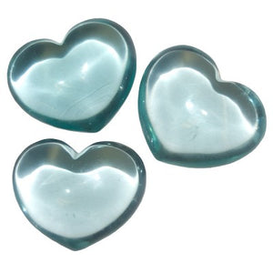 Puffy 'Aquamarine' Heart
