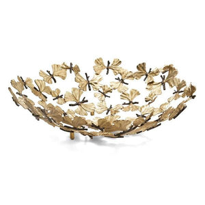 Butterfly Ginkgo Centrepiece Bowl