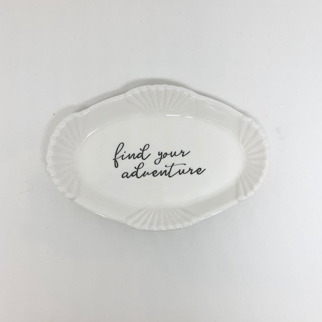 Find your Adventure Trinket Dish
