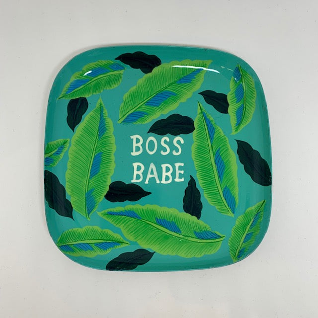 Boss Babe Trinket Tray