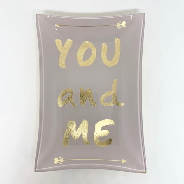 You and Me Trinket Dish
