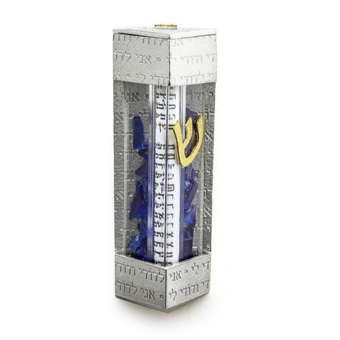 Joy Stember Square Wedding Shard Mezuzah