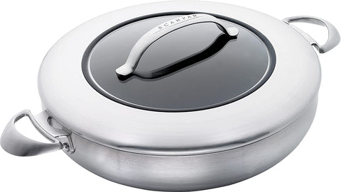 Scanpan CTX Chef Pan with Glass Lid