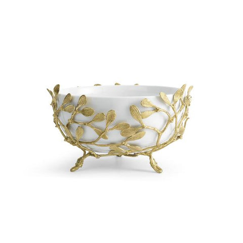 Mistletoe Porcelain Serving Bowl