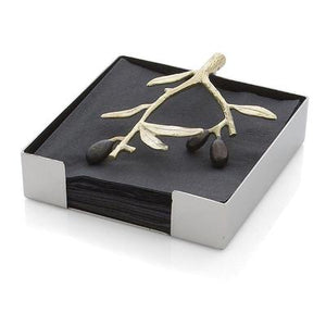 Olive Branch Cocktail Napkin Holder