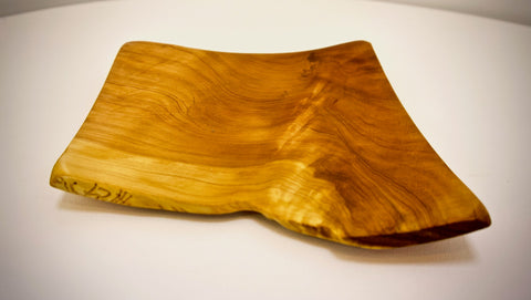 Cypress winged platter (live edge)
