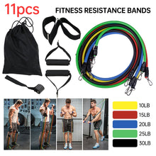 Load image into Gallery viewer, Combo. Sets PCS. of 6, 11's and 17 pcs Pull Rope Resistance Bands