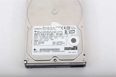 Apple / Hitachi Hard Drive HDS725050kla360 7200 RPM 500 GB P/N 655-1261