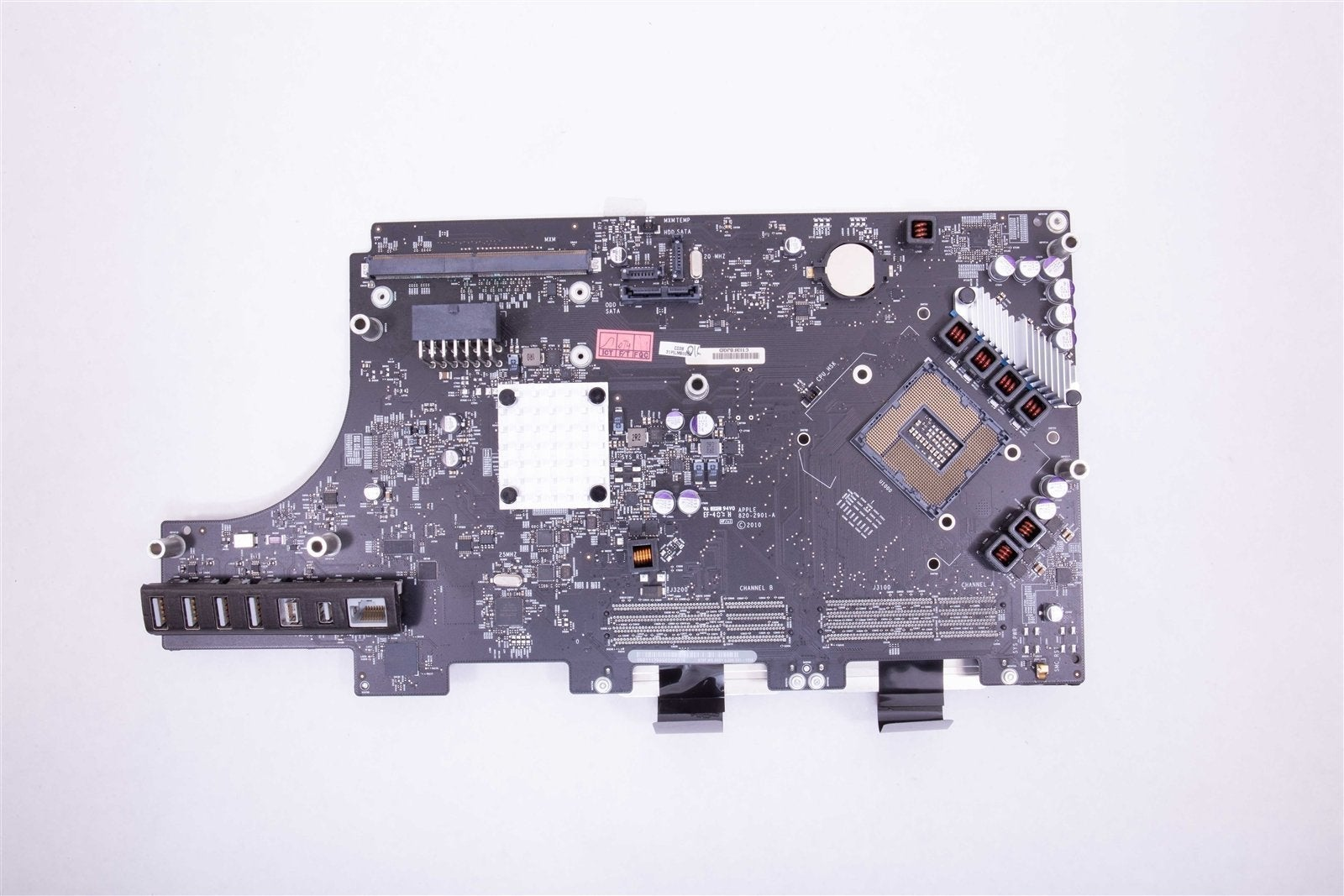 "Apple iMac 27"" Mid 2010 Logic Board 820-2901 661-5530 661-5531 CPU NOT INCLUDED"