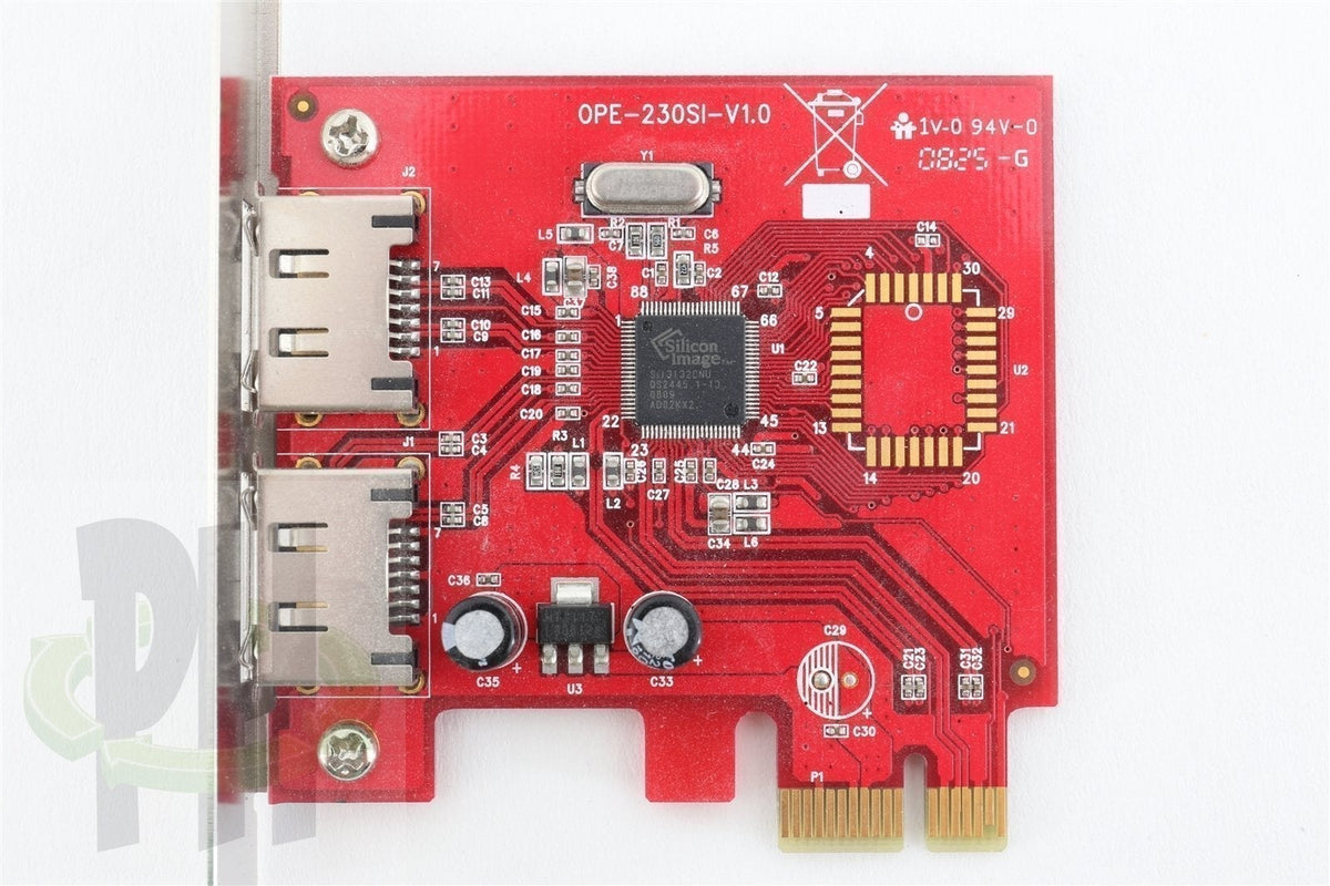 OPE-230SI-V1.0 2-port PCI-E x1 eSATA interface card